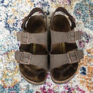 🌿Birkenstock Milano Strap Vegan Leather Sandals